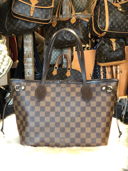 Louis Vuitton Damier Ébène Neverfull PM