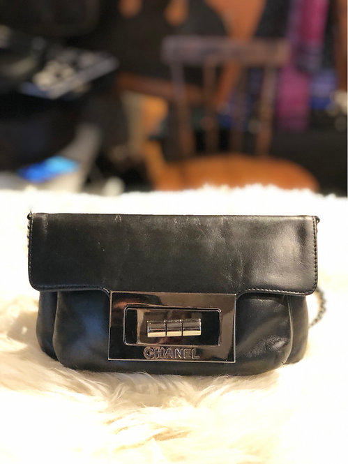 Chanel Giant Reissue Lock Crossbody Bag