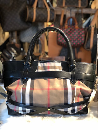 Burberry Bridle Landscape Lynher Tote