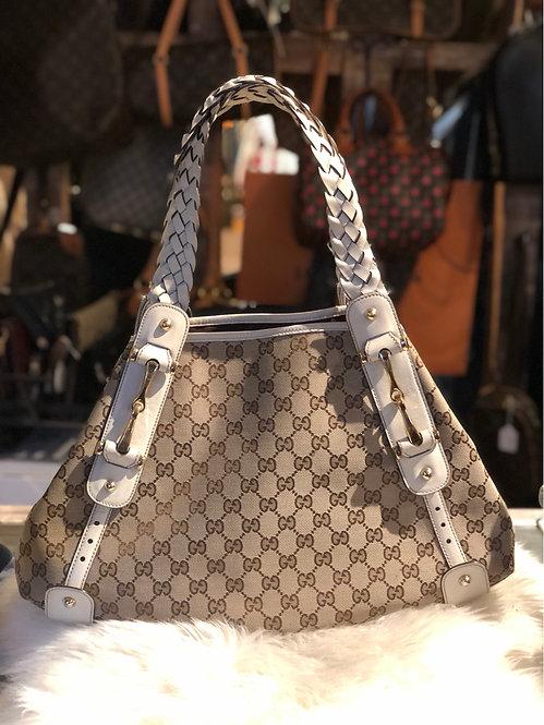 Gucci Medium GG Canvas Pelham Bag