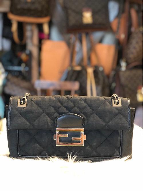 Fendi Quilted Crossbody Bag