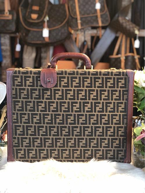Fendi Zucca Briefcase