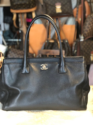 Chanel Executive Cerf Tote w/strp