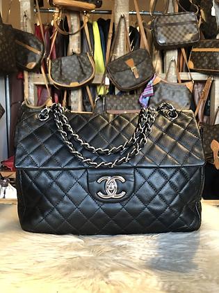 Chanel Classic Jumbo Single Flap Caviar Bag