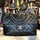 Thumbnail: Chanel Classic Jumbo Single Flap Caviar Bag