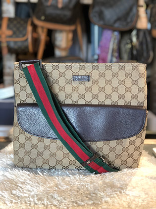 Gucci GG Canvas Messenger Bag