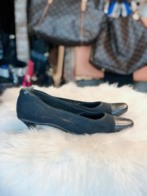 Prada Leather & Mesh Shoe