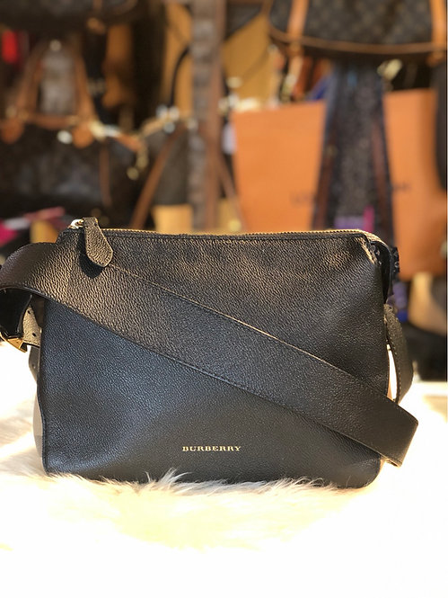 Burberry House Check Small Helmsley Crossbody Bag