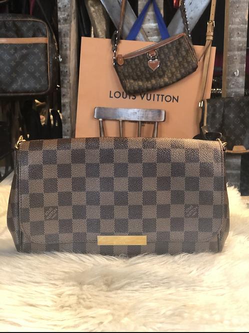 Louis Vuitton Damier Ébène Favorite MM