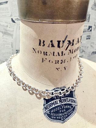 Tiffany & Co. Oval Tag Choker Necklace