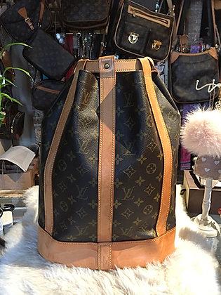 Louis Vuitton Monogram Randonnée MM Backpack