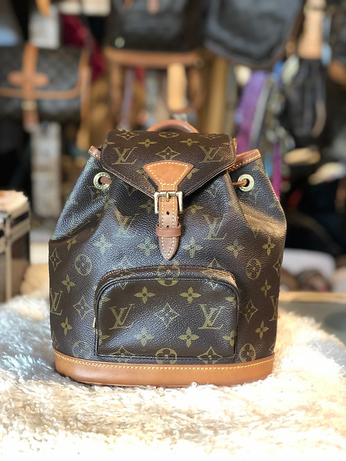 Louis Vuitton Monogram Montsouris PM