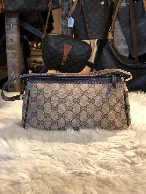 Gucci GG Canvas Clutch Bag