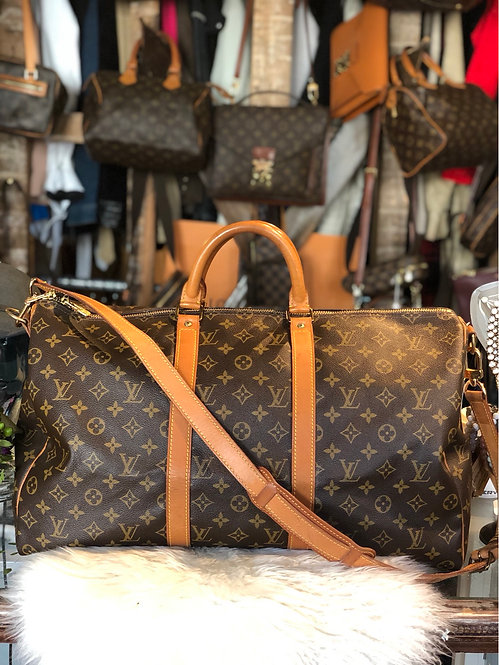 Louis Vuitton Monogram Keepall 50 Bandoulière