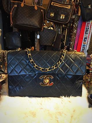 Chanel Vintage Classic Maxi Single Flap Bag