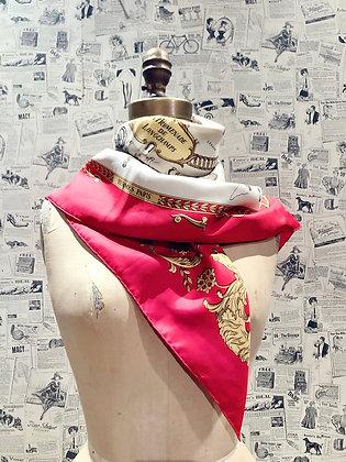 Hermès «La Promenade de Longchamps» Silk Scarf