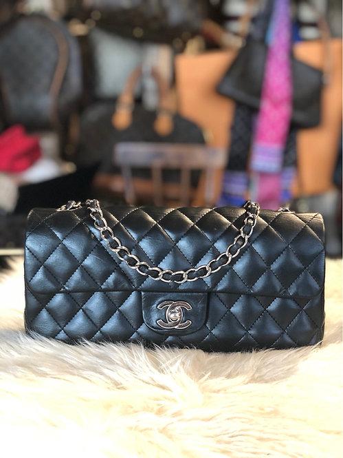 Chanel East West Flap Bag