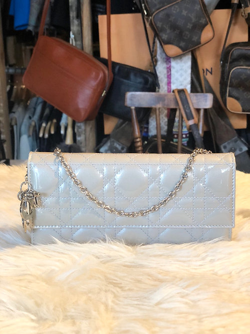 Christian Dior Lady Dior Wallet on Chain