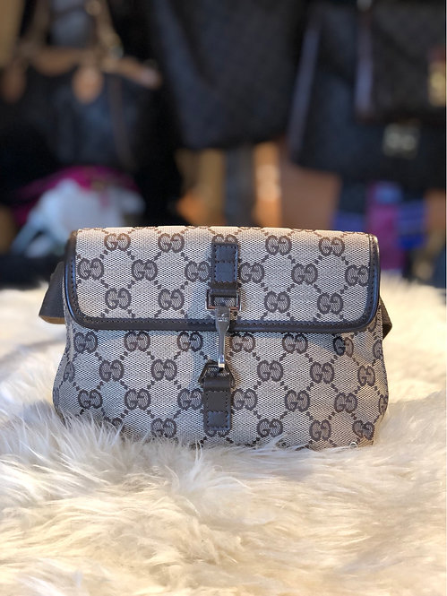 Gucci Jackie GG Canvas Waist Bag