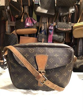 Louis Vuitton Monogram Jeune Fille Crossbody Bag