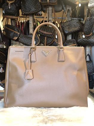 Prada Extra Large Saffiano Lux Bag