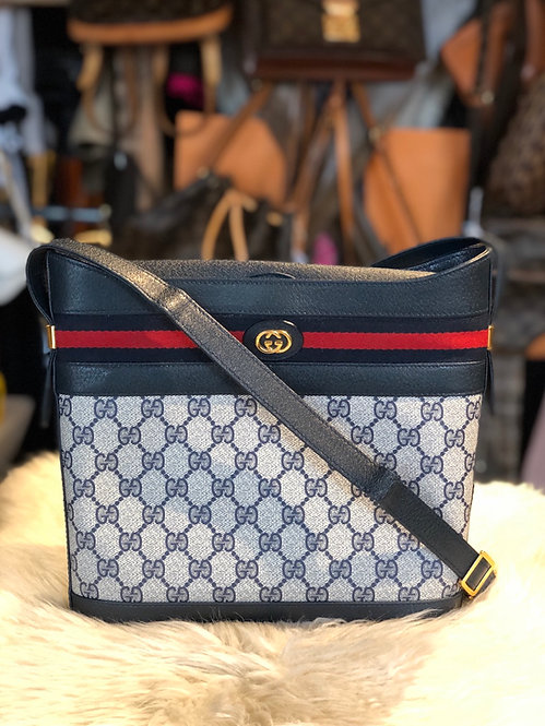 Gucci GG Plus Web Crossbody Bag