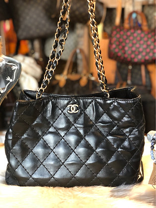 Chanel CC Quilted Tote