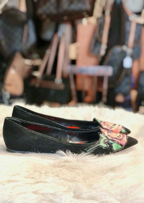 Louis Vuitton Stephen Sprouse Graffiti Rose Ballet Flats