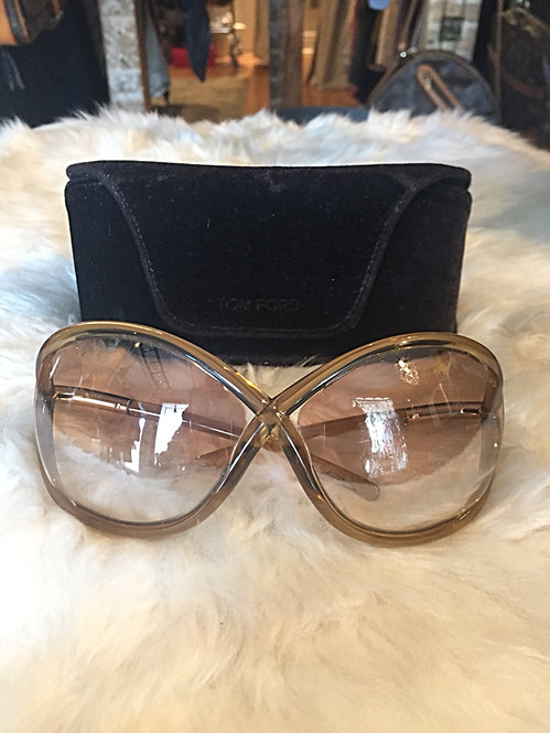 Tom Ford Oversozed Whitney Sunglasses