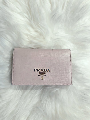 Prada Metal Card Holder