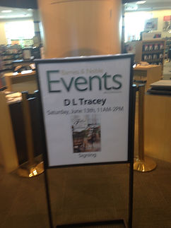 DL Tracey Book Signing