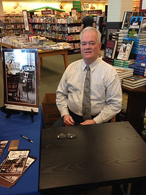 DL Tracey at book signing Galilee