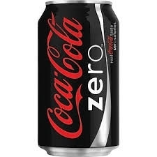 Coke Zero Can