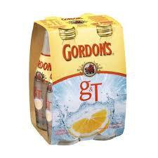 Gordons & Tonic 4pk BT