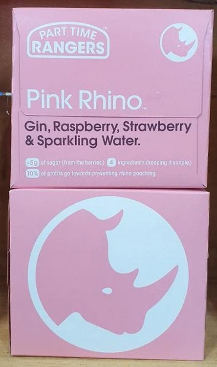 PTR Pink Rhino Gin 4pk