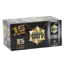 Cody 5% 15pk cans