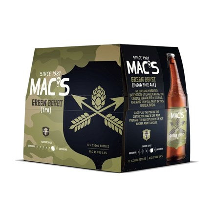 MACS GREEN BERET 12PK BTLS