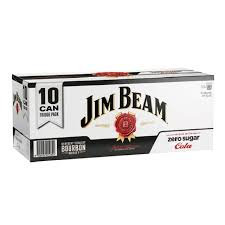 Jim Beam Cola Zero 10pk 330ml cans