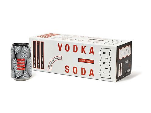 Rinse Vodka Blood Orange 10pk 330ml 6%