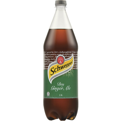 Schweppes Dry Gingerale 1.5 Litre