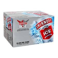 Smirnoff Ice Red 5% 12pk cans 250ml