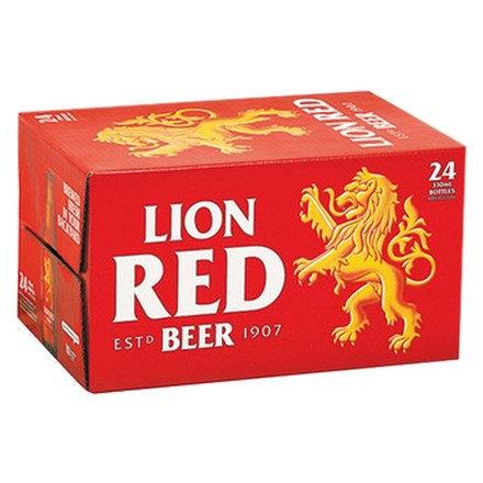 LION RED 24PK BTLS
