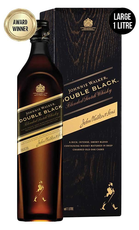 Johnnie Walker Double Black 1 Litre