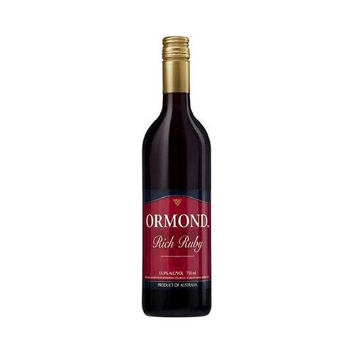 Ormond Rich Ruby 750ml