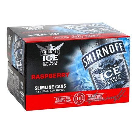 SMIRNOFF RASPBERRY 12PK CANS