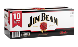 JIM BEAM 10PK CAN COLA