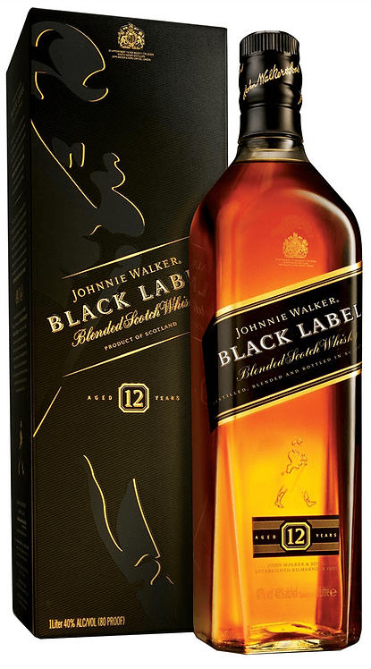 Johnnie Walker Black Label 1 Litre