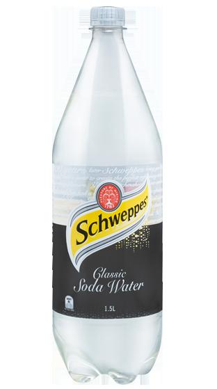 Schweppes Soda Water 1.5 Litre
