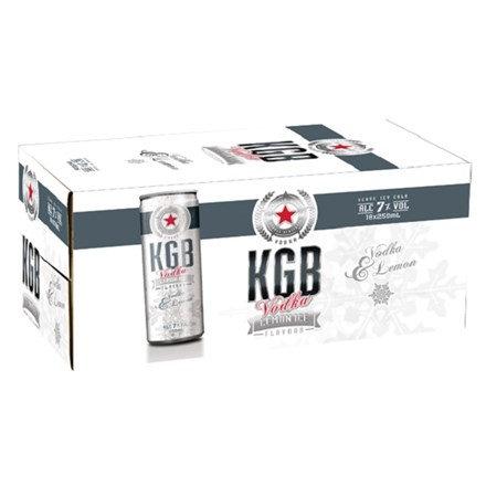 KGB 7% 18PK CANS