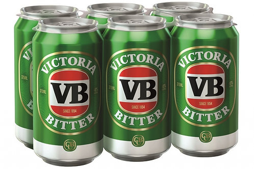 Victoria Bitter 6pk Cans VB